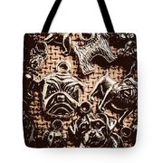 Silver Dog Show Tote Bag