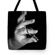 Silver Dummy Tote Bag