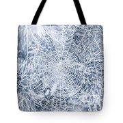 Silver Filigree Tote Bag
