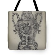 Silver Hot Water Urn Tote Bag