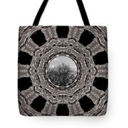 Silver Idyl Tote Bag