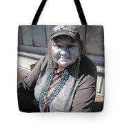 Silver Lady Tote Bag