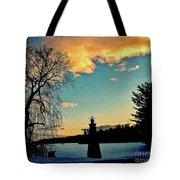 Silver Lake Sundown Tote Bag