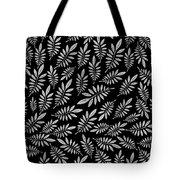 Silver Leaf Pattern 2 Tote Bag