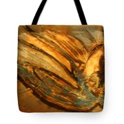 Silver Liberty - Tile Tote Bag
