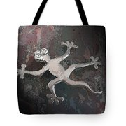 Silver Lizard Tote Bag