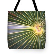 Silver Palm  Tote Bag