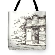 Silver Plume Ghost Town Colorado Tote Bag