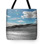 Silver Sand Tote Bag