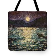 Silver Sea Tote Bag