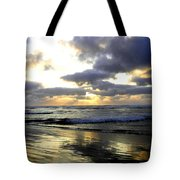 Silver Shores Tote Bag
