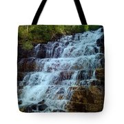 Silver Staircase Tote Bag