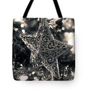 Silver Star Tote Bag