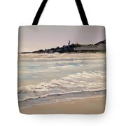 Silver Surf Tote Bag