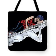 Silver Surfer Tote Bag