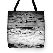 Silver Surfers Tote Bag