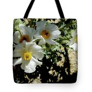 Silver Terrace Virginia City Nevada Flowers Tote Bag
