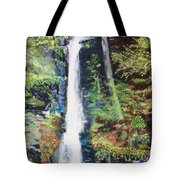 Silver Thread Falls Tote Bag