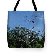 Silver Tree Tote Bag