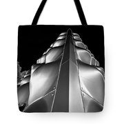 Silver Triangle Tote Bag