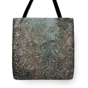 Silver Twilights Tote Bag