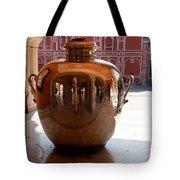 Silver Water Urn Jaipur Tote Bag