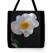 Silver Waves Camellia Tote Bag