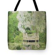 Silver White Willow Tote Bag by Aleksandr Jakovlevic Golovin