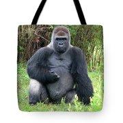 Silverback Gorilla 2 Tote Bag