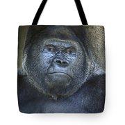 Silverback Portrait Tote Bag