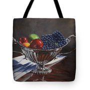 Silvered Fruit Tote Bag