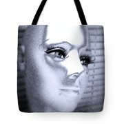 Silver Queen Tote Bag