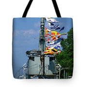 Silversides Flags Tote Bag