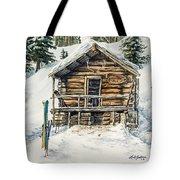 Silvertip Lodge Tote Bag