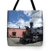 Silverton Durango Steam Train - Silverton Colorado Tote Bag