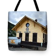 Silverton Train Depot Tote Bag