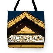 Silverton Train Station Tote Bag