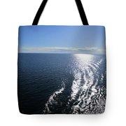 Silvery Ocean Tote Bag