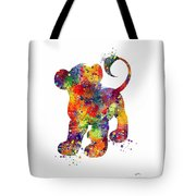 Simba The Lion King Watercolor Art  Tote Bag