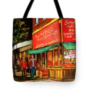 Simchas  Fruit Store Tote Bag