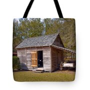 Simmons Cabin Built In 1873 In Orange County Florida Tote Bag