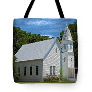Simple Country Church Tote Bag