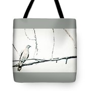Simple Dove Tote Bag