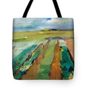 Simple Fields Tote Bag