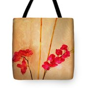 Simple Floral Arrangement  Tote Bag