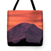 Simple Mountain Tote Bag
