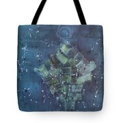 Simpleness Is Happiness Tote Bag