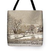 Simpler Times Tote Bag
