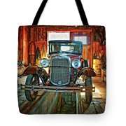 Simpler Times - Paint Tote Bag