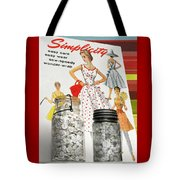 Simplicity Vintage Sewing Pattern - Color Tote Bag